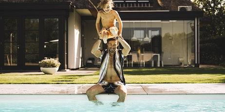 vergunning aanleggen zwembad