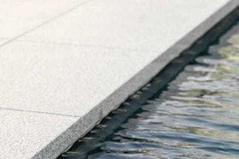 Coping stones and patio tiles
