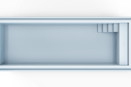 Nexxt 120 Hoekkap L Top Blauw