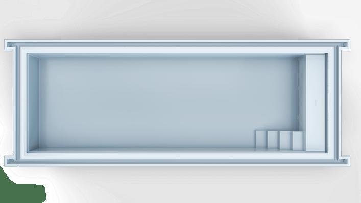 Nexxt 120 Hoekkap R Top Blauw