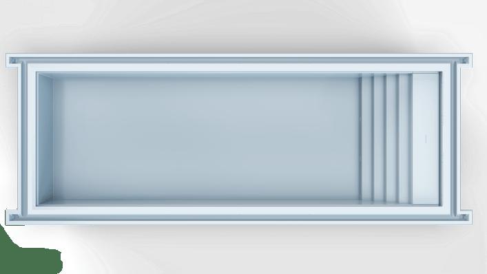 Nexxt 120 Trap Top Blauw